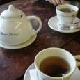 紅茶を飲みました。
