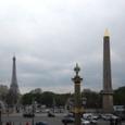 コンコルド広場から見たエッフェル塔。