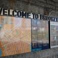 ブルックリンまで地下鉄で移動しました。