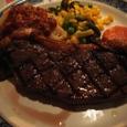アメリカンスタイルのステーキ